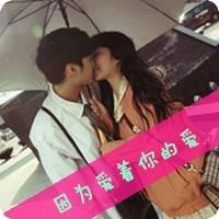 情侶接吻頭像