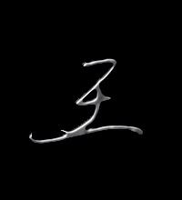 王艺术字体