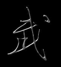 武艺术字体