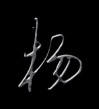 楊藝術字體