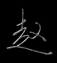 赵艺术字体