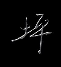 坪艺术字体