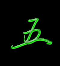艺术字体五