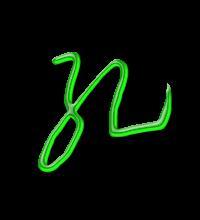 藝術字體孔